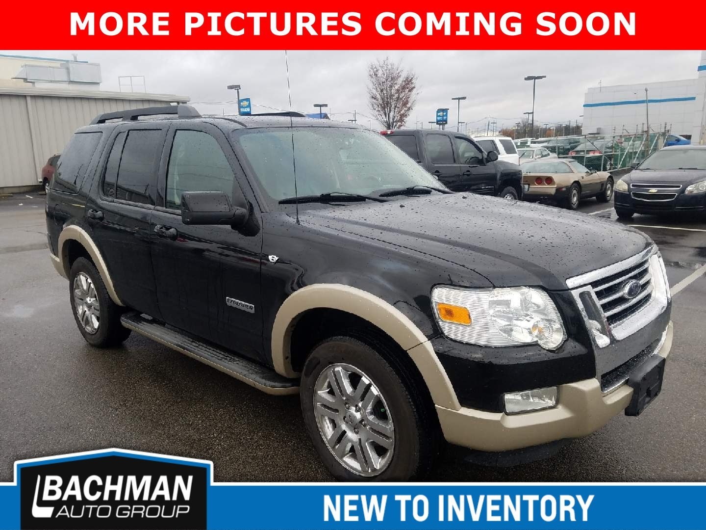 Pre owned 2008 ford explorer eddie bauer