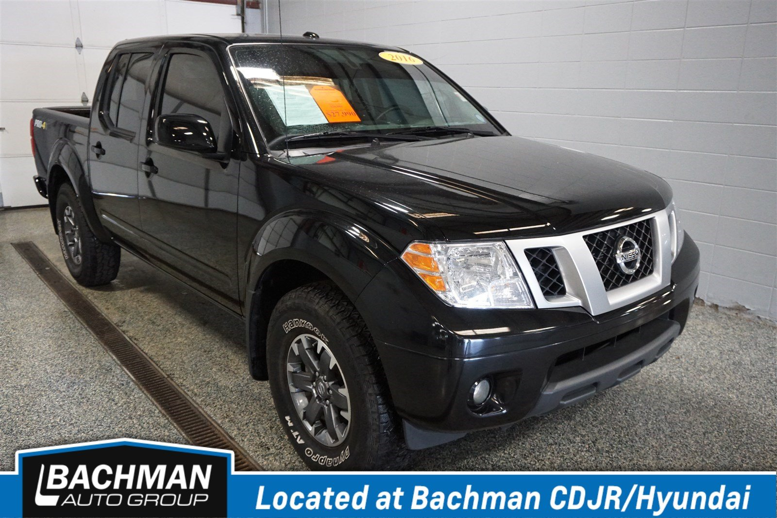 Pre Owned 2016 Nissan Frontier Pro 4x