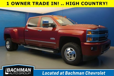 Pre-Owned 2018 Chevrolet Silverado 3500HD High Country