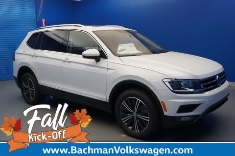 New 2019 Volkswagen Tiguan SEL With Navigation & AWD